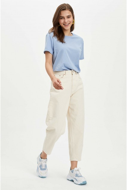 light blue t-shirt Defacto