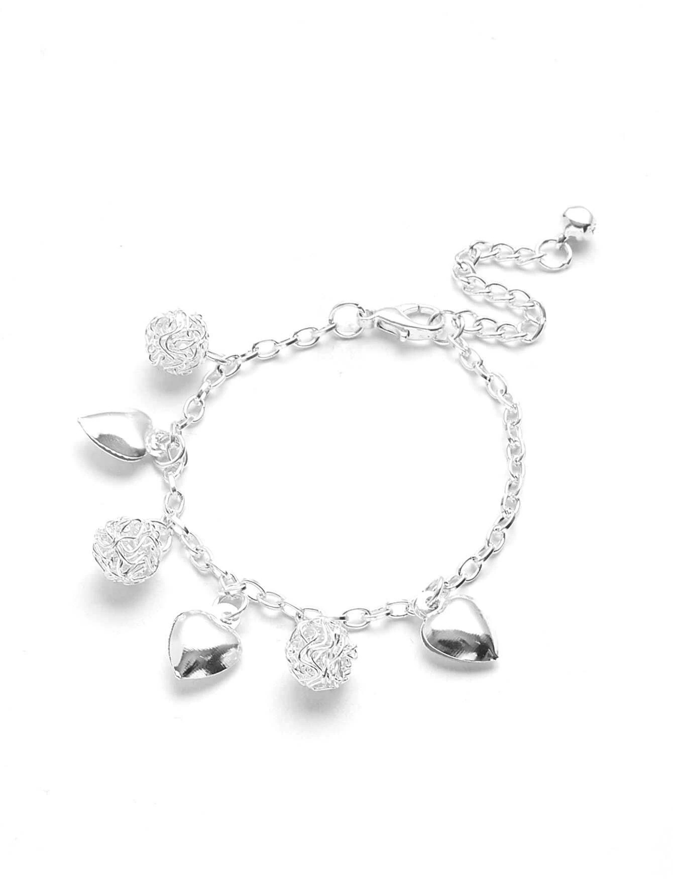 Hearts pattern bracelet
