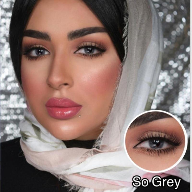 Browny Bonny Coloured Contact Lenses So Grey
