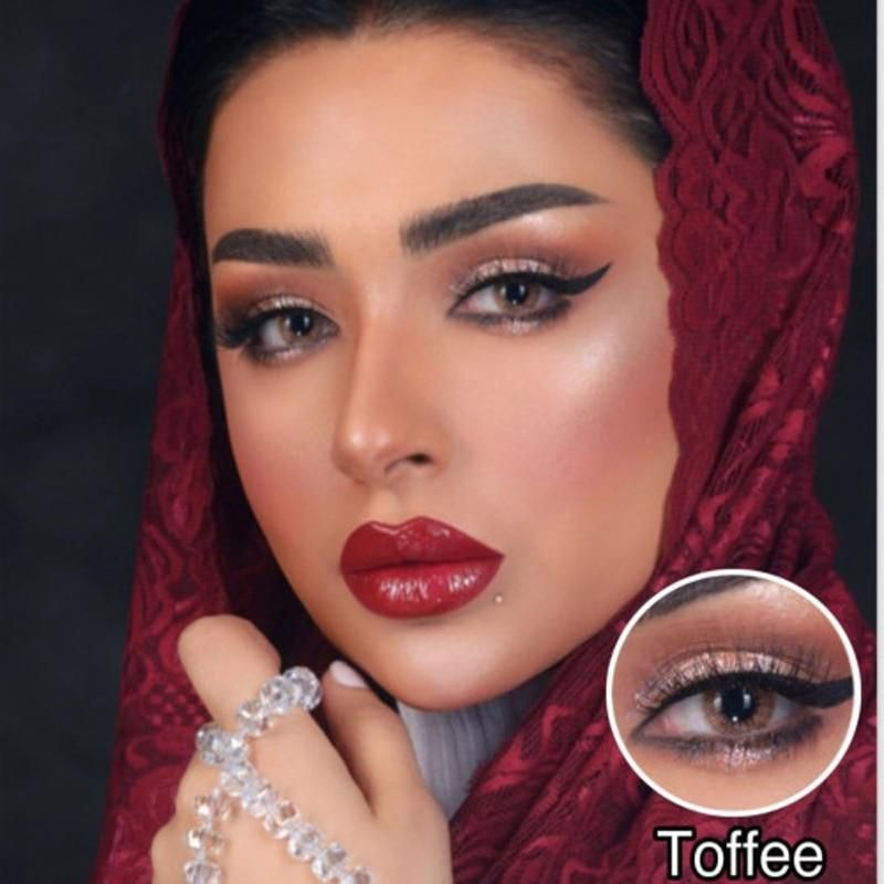 Browny Bonny Coloured Contact Lenses Toffee