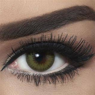 Bella Coloured Contact Lenses Diamond - Caribbean Green