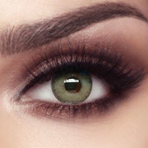 Bella Coloured Contact Lenses Elite - Gray Olive