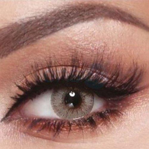 Bella Coloured Contact Lenses Elite - Mint Gray
